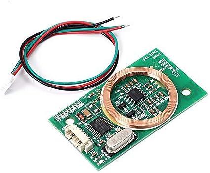 Wireless Module 125KHz EM4100 ID Reader RFID Precise HZ-1051 BSG