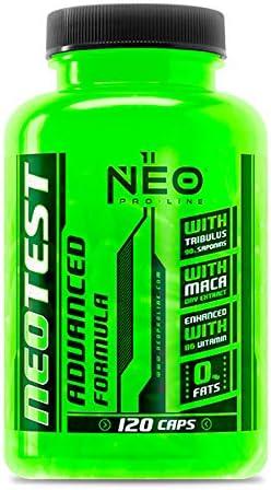 NEOTEST 120 Caps. - Suplementos Alimentación y Suplementos Deportivos – NEO PRO-LINE