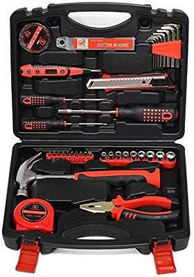 SXXMY Maletín de Herramientas Hardware Herramientas Caja Manual Electricista Auto Kit de reparación Piezas de Herramienta de combinación de Coche hogar: Amazon.es: Hogar