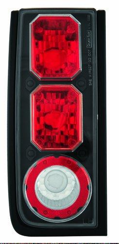 IPCW CWT-CE343CB Crystal Eyes Bermuda Black Tail Lamp - Pair