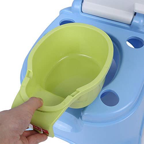 Yililay Kleinkind Potty Sitz Cartoon-Frosch-Soft-WC-Sitz f/ür Kinder Antirutsch Potty Training Ring