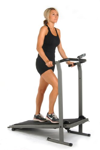 Stamina Inmotion Manual Treadmill (Pewter Grey, Black) by Stamina (Image #4)