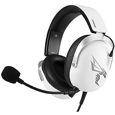 HUOGUOYIN Gaming Headset Gaming Headset USB 7 1 virtual surround sound stereo headphones gamers headset microphone headset Computer headset  Color White