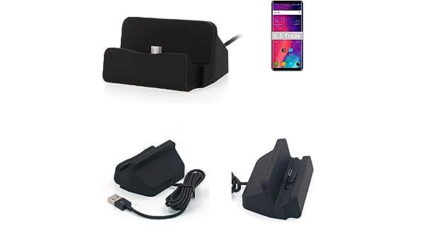 K-S-Trade® Dock USB para El Elephone U Pro, Negro | Estación De ...
