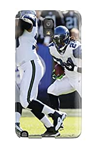 DanRobertse Perfect Tpu Case For Galaxy Note 3/ Anti-scratch Protector Case (seattleeahawks )