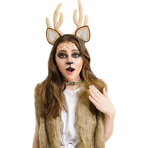 Papillion Accessories Oh Deer Halloween Costume Accessory Kit for Women, 2 Pieces, by M&J Trimmings]()
