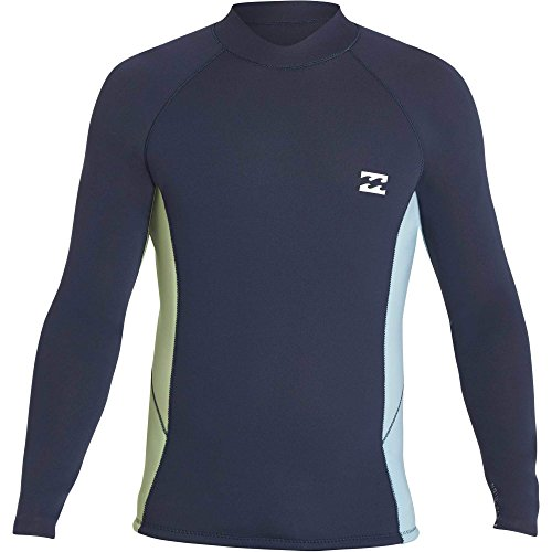Reversible Wetsuit - Billabong Men's 2Mm Revolution Interchange Reversible Wetsuit Jacket Slate Medium