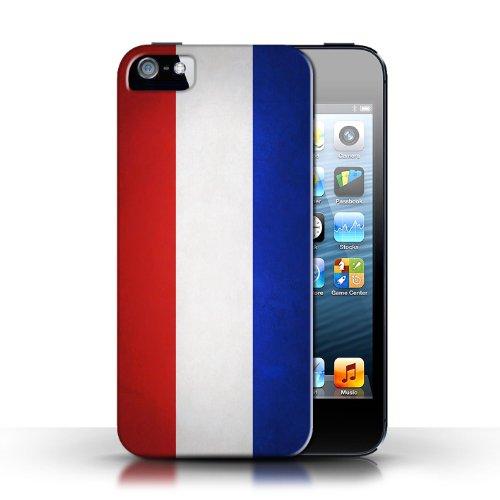 Etui / Coque pour Apple iPhone 5/5S / Pays-Bas conception / Collection de Drapeau