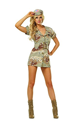 RG Costumes Women's Storm Fox, Tan/Brown, Small/2-4 -