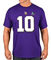 Fran Tarkenton Minnesota Vikings Majestic Men's HOF Eligible Receiver 4 T-Shirt