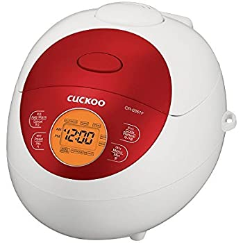 Cuckoo Electric Heating Rice Cooker CR-0351FR (RED)