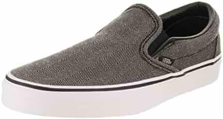 0ddb37cae05 Vans Unisex Classic Slip-On (Oversized Herringbone) Skate Shoe