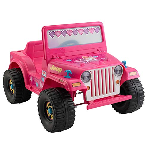 Power Wheels Barbie Jeep Wrangler (Barbie Power Wheels Jeep Battery)