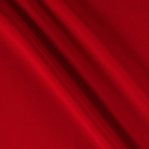 Ben Textiles Peachskin Fabric by The Yard, Red