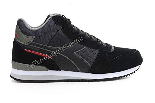 Mid Sneaker 172355 uomo Collo 60076 alto Malone Scarpa 80012 da Nero Diadora Blu q84wR00