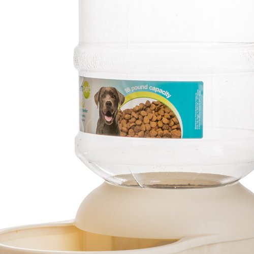 Petmate 24577 Le Bistro Pet Feeder, 18-Pound