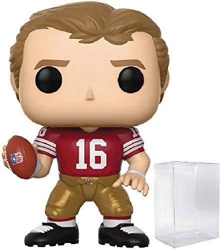 - Funko NFL Legends: Joe Montana (49ers Home) Pop! Vinyl Figure (Includes Compatible Pop Box Protector Case)