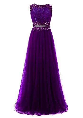 Vestidos Vestidos Regencia para Aplicado Noche Tul Largos Mujer Callmelady de Fiesta de EnUXq4XH1