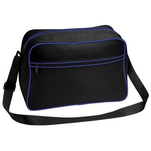 Bagbase 18 Black Shoulder Retro Adjustable Bag Royal bright Litres TrFrIBq
