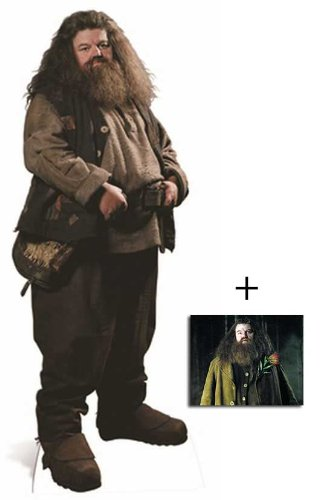 Fan Pack - Hagrid from Harry Potter Lifesize Cardboard Cutout (Standee / Standup) Robbie Coltrane - Includes 8X10 (25X20Cm) Star Photo