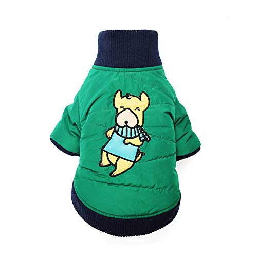 zgshnfgk Winter Dog Jacket Polyester Lined Jacket Dog Coat Jacket(color1-S
