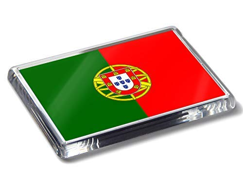 Flag of Imán para Nevera con Bandera de Portugal de Colores ...