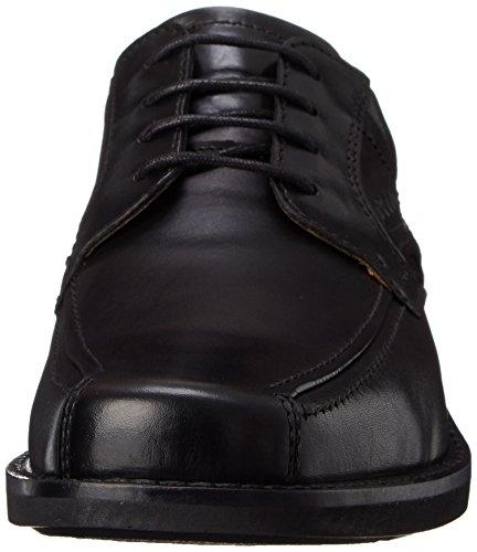 Ecco Seattle Hombre Negro Piel Zapatos Talla EU 42