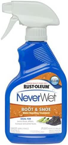 Rust-Oleum 280886 NeverWet 11-Ounce Shoe and Boot Spray, Clear