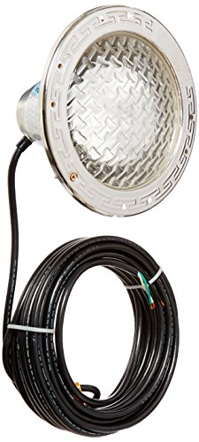Pentair 78458100 Amerlite Underwater Incandescent Pool Light with Stainless Steel Face Ring, 120 Volt, 50 Foot Cord, 500 -