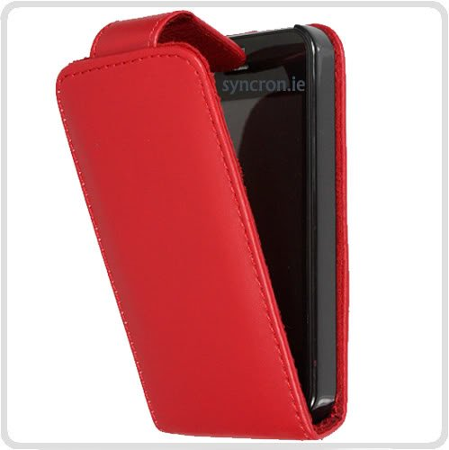 Outstanding Value di Apple iPhone 5C Red vibrazione di PU Leather Case Cover per Apple iPhone 5C G5GADGET®