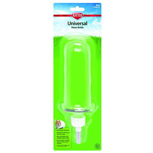 Super Pet Crittertrail Water Bottle - Kaytee Universal Water Bottle 8-Ounce