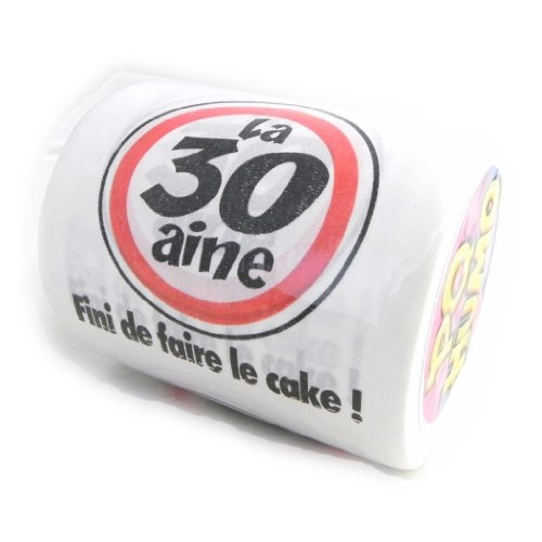 Toilet roll '30 Ans' .