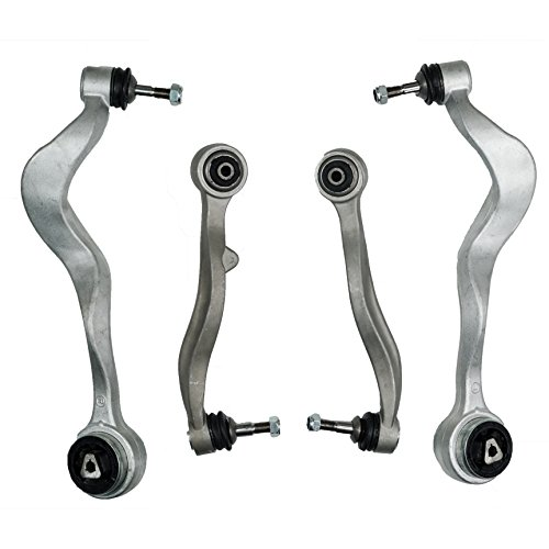 Front Lower Control Arm Kit Left & Right KM Premium Quality 4Pcs for BMW 5 Series E60 525i 530i 535i 545i 550i ()