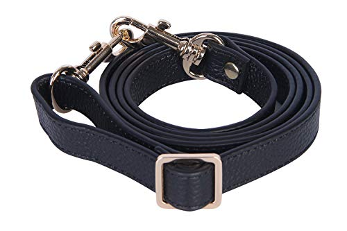 VanEnjoy Full Grain Leather Adjustable Replacement Cross Body Purse Shoulder Strap, 0.7