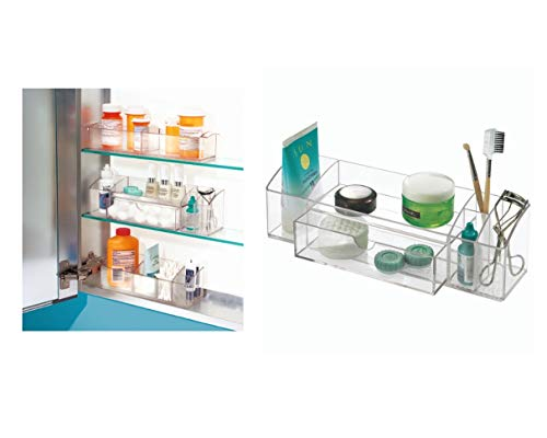 iDesign Med+ Bathroom Medicine Drawer Organizer, Cabinet