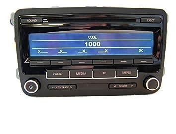 genuine vw radio cd mp3 player rcd 310 5m0 035 186 the dab rcd310 rh amazon co uk iPod Car Adapters RCD 310 Radio