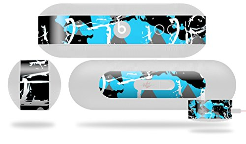 SceneKid Blue Decal Style Skin - fits Beats Pill Plus (BEATS PILL NOT INCLUDED) by WraptorSkinz