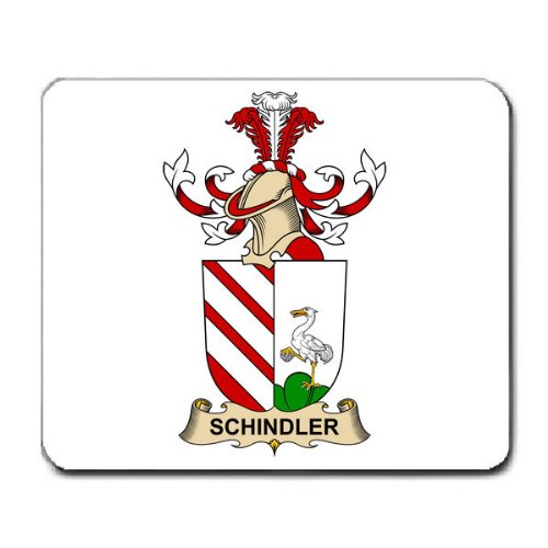 schindler-family-crest-coat-of-arms-mouse-pad