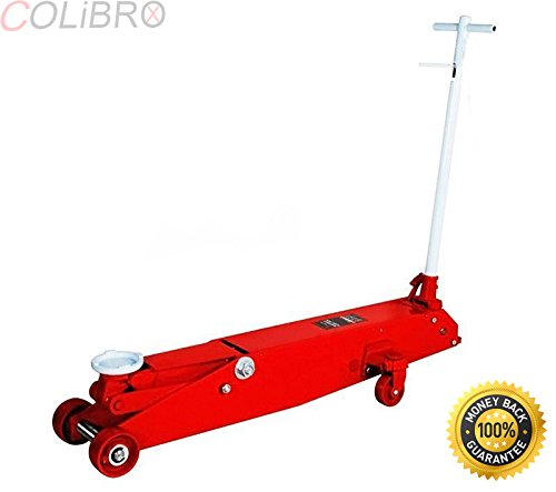 10 Ton Long Frame (COLIBROX--Heavy gauge steel shop 10 Ton Long Chassis Hydraulic Service Jack truck bus new. Long chassis body length allows access to difficult to reach load points Heavy gauge, steel frame.)