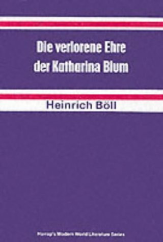 Lost Honour of Katharina Blum (German literary texts)