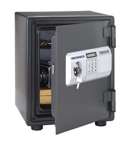 Brink 39 s home security 5054d 1 hour digital steel fire safe for Brinks home security
