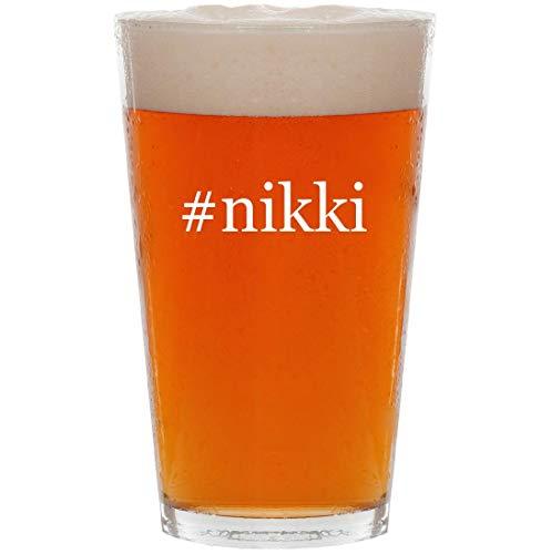 #nikki - 16oz Hashtag All Purpose Pint Beer Glass