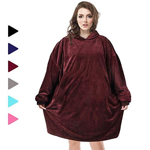AmyHomie Blanket Sweatshirt Oversized