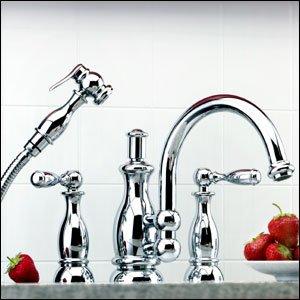 Mico Satin Nickel Seashore Series Kitchen Faucet