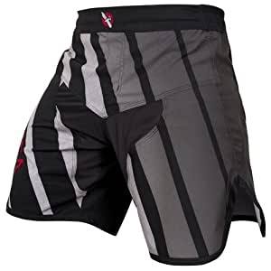 Hayabusa Flex Fight Shorts, 36, Black