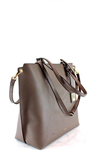 Ralph Lauren Shopping Donna 431605014-ABBY tote Marrone