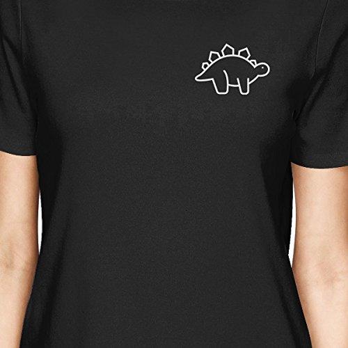 365 mujer Tama de para manga Printing Camiseta o corta 7PHrqY7O