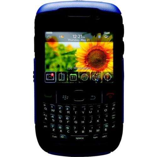 C5otr Skin - OtterBox BlackBerry Curve 8500 Commuter Case - Zircon Blue/Blac