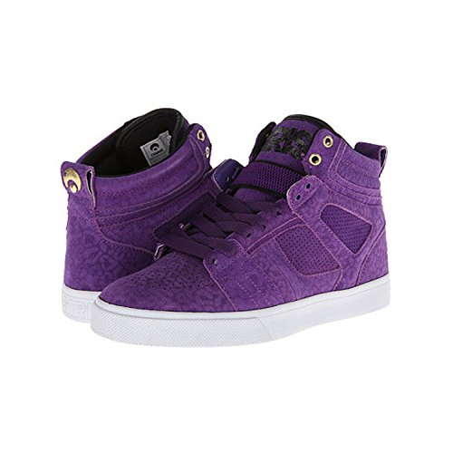 Osiris Women's Raider Skate Shoe,Purple/Purple/Black,6 M US