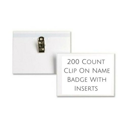 Sparco Name Badge (2 Pack)